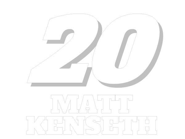 printable matt kenseth 20 nascar coloring sheet