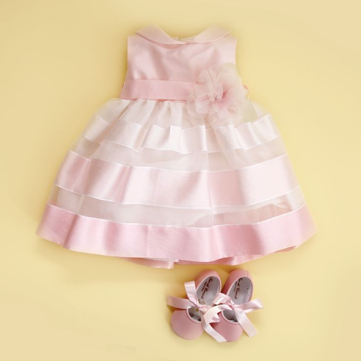 Stripes and shades of pink make the perfect dress <3 for more event dresses for your little one check out www.legogo.ro