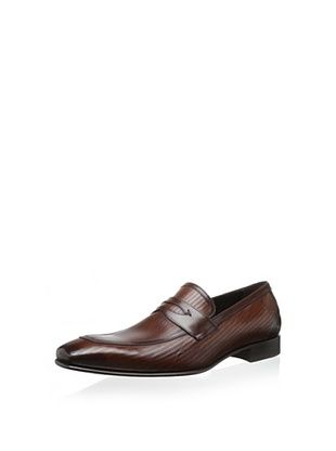 48% OFF Mezlan Men's Penny Loafer (Cognac/Brown)
