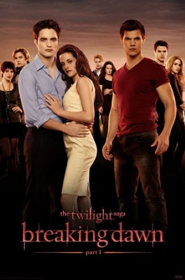 Breaking Dawn - Part 1  #movies: Movie Posters, Breakingdawn, Dawn Pt, Books Worth, Talent O'Port, Twilight Break Dawn, Twilightsaga, Twilight Saga, Favorite Movie