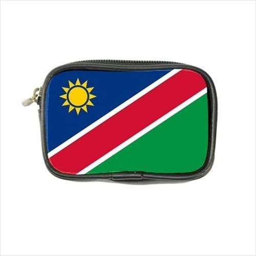 12.54$  Watch now - http://vihos.justgood.pw/vig/item.php?t=oxp6ea248764 - Namibia Flag Leather Coin Purse 12.54$