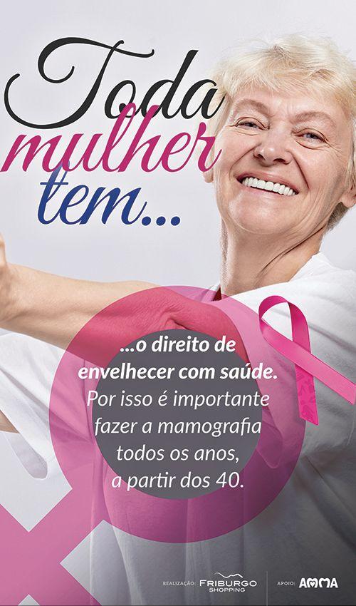Banner para a campanha Outubro Rosa - 2014