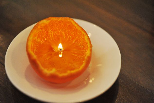 """""""How to Make a Citrus Peel into a Candle"""" — The Official Site of Chef Georgia Pellegrini 