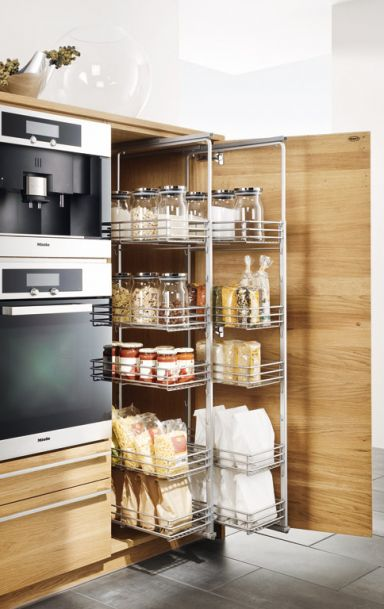 smart solution for a better organized kitchen
