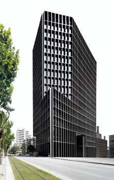La torre está inserta en el Campus Audiovisual Barcelona Media, que se agrupa dentro del Plan General 22@.