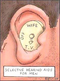 This hearing aid is really funny men! #soundamplifier