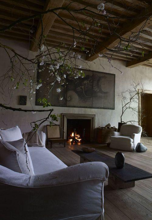 Living Room:Interior #design by Axel Vervoordt #decor