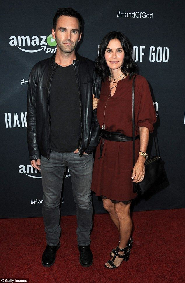 They can't let go: Courteney Cox is looking at wedding dresses again. On Thursday Life & Style Weekly reported the Friends vet is once again engaged to ex Johnny McDaid after a brief split in 2015; here they are seen in August