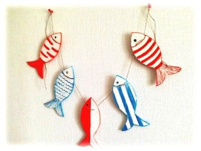 Fish garland by:-Victoria