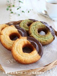 クッキードーナツ オールドファッション by かっぱ橋浅井商店 [クックパッド] 簡単おいしいみんなのレシピが222万品