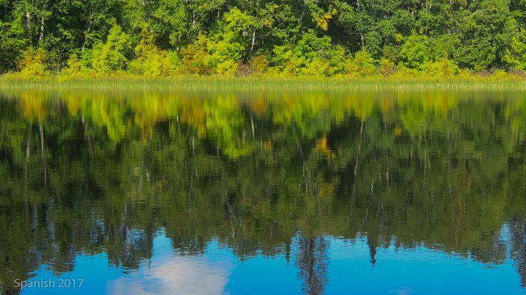 Duke Lake on Spanish River, 2017. Photo by Doug Colter