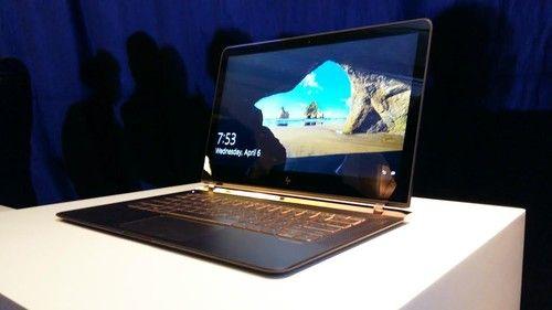 Ini HP Spectre, Laptop Tertipis Tapi Garang - http://www.kabartekno.id/1488/ini-hp-spectre-laptop-tertipis-tapi-garang.html/  #News