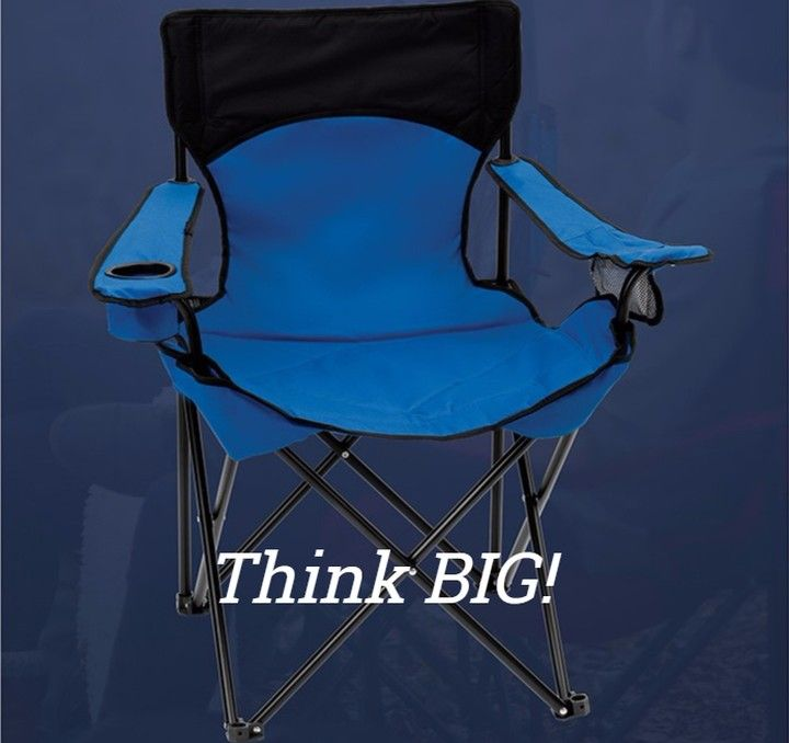 Big Camp #Chair is perfect for your #branding & will be seen often with your #logo on the  chair! Perfect for #football & #soccer #games! Extra wide seat design & cushioned head rest & seat! #Cup holder for your favorite #beverages  Info: http://ift.tt/2wzfnbu  #outdoors #camping #sports #big #picnics #beach #instagood #photooftheday #pool #lake #events #mylogosource #brands #marketing #swag #promo #chairs