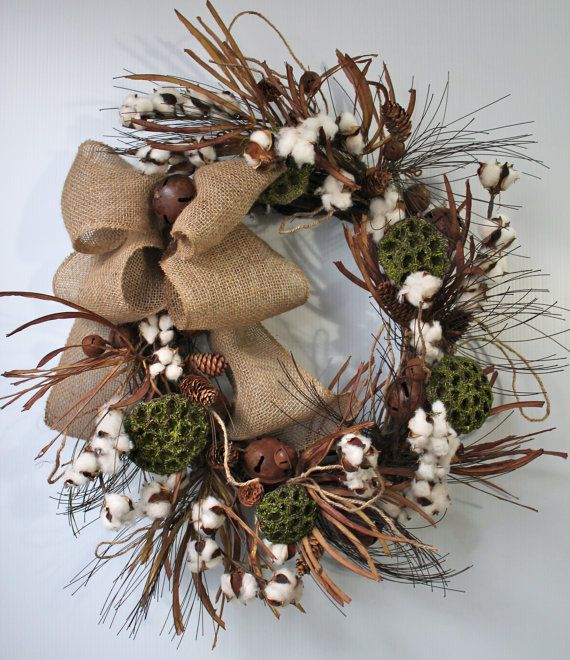 Best 215 best Wreath-Cotton Boll images on Pinterest YV21