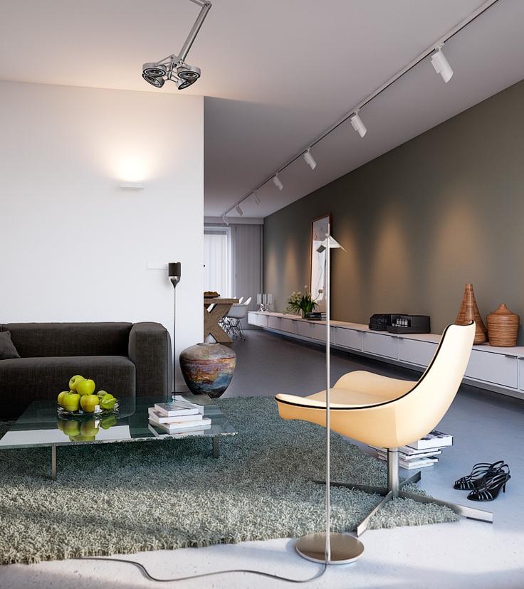 Project Heijmans | De Griffel by George Nijland. Love the low sideboard.