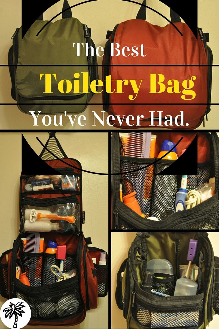 Discover the best toiletry bag you've never had. This little bag is going to change your life forever...and your next adventure too!