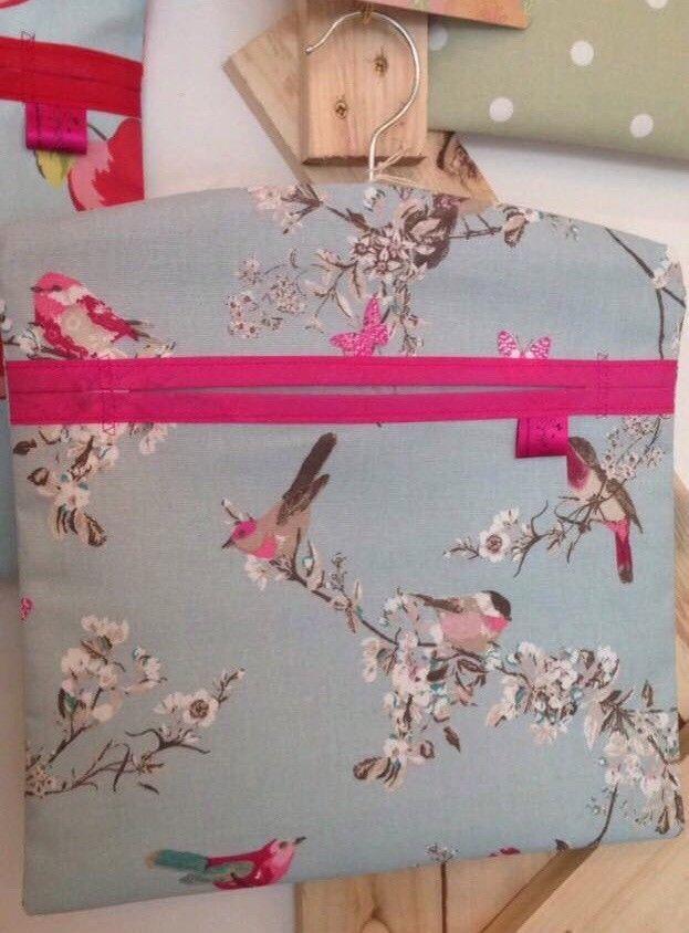 Washing Peg Bag Laundry Pin Bag Beautiful Birds Kitchen Kitsch  | eBay