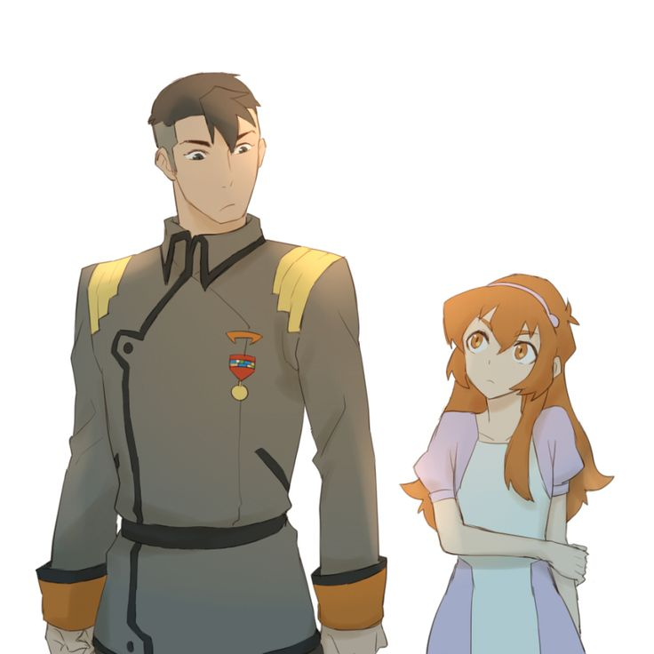 Shiro & Katie Holt (Pidge) before