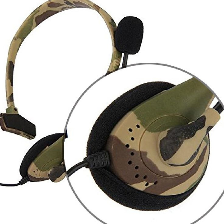 >> Click to Buy << Hot Sale Fashion Gaming Headset Headphone Camouflage Earphone Headsets with two Microphone mic for Xbox 360 Xbox360 #Affiliate