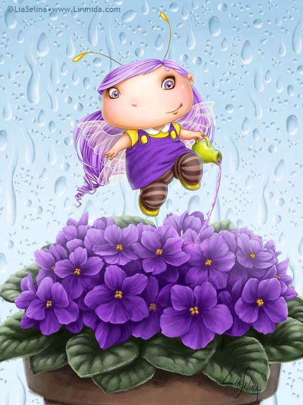 Saintpaulia Fairy-bug by LiaSelina on deviantART