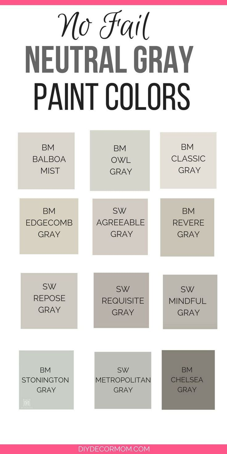 Need The Best Gray Paint Colors These Light Gray Paint