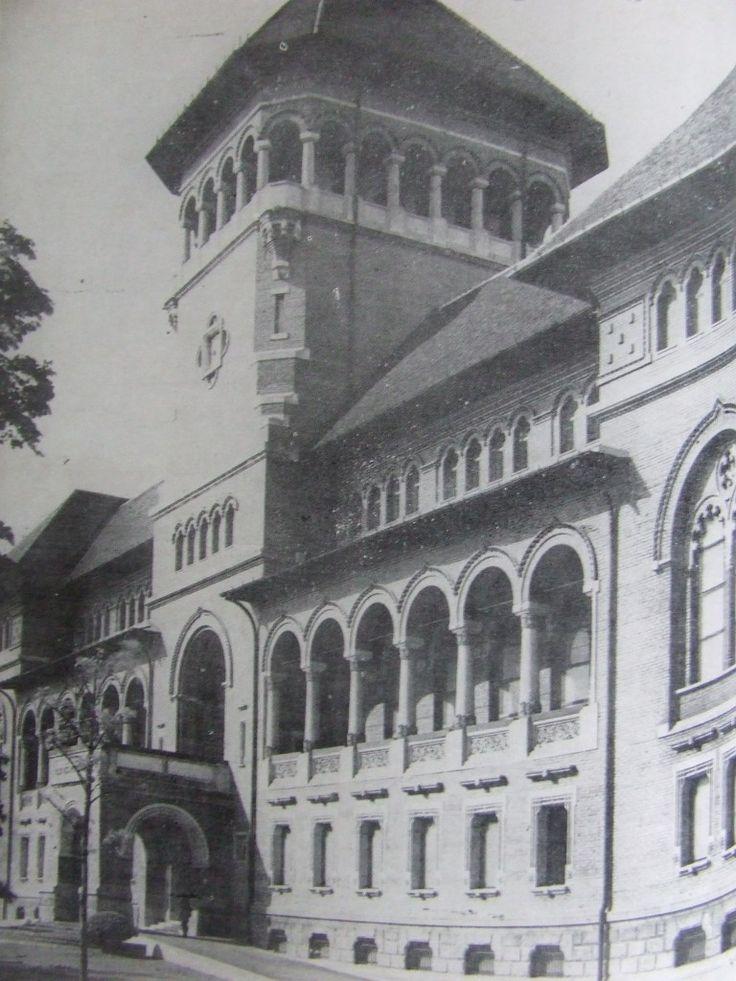 Palatul Muzeului de Istorie Bucuresti, arh. N. Ghica Budesti