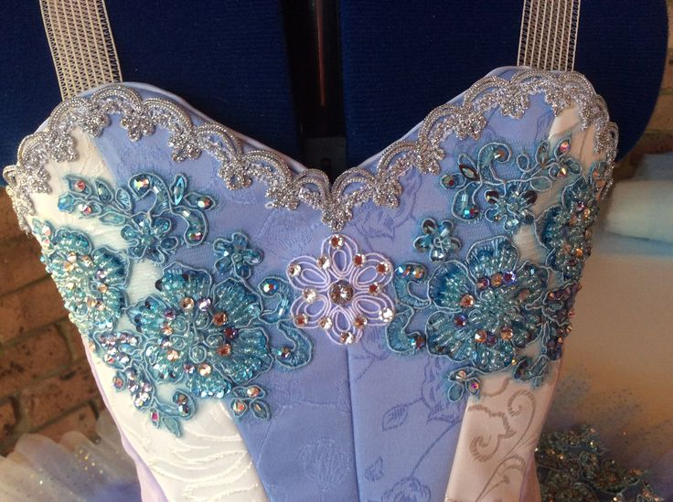 Finished decorating the bodice