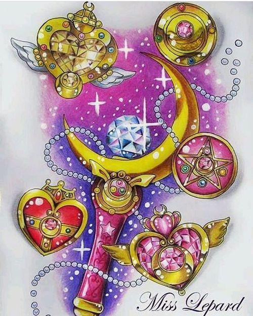anime, art, and sailor moon image