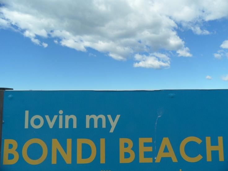 loving bondi beach