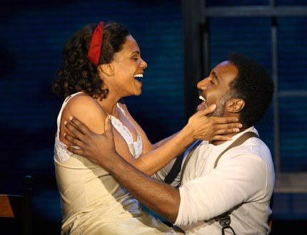 Audra McDonald in Porgy and Bess.  She's the greatest!