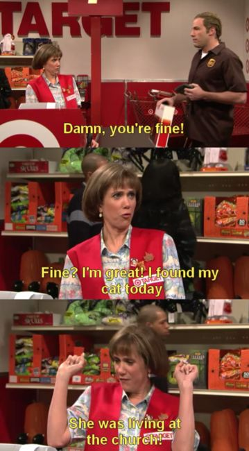 Target Lady will always be one of my favorites...
