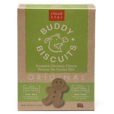 Cloud Star Original Buddy Biscuits Dog Treats, Roasted Chicken - 16 oz