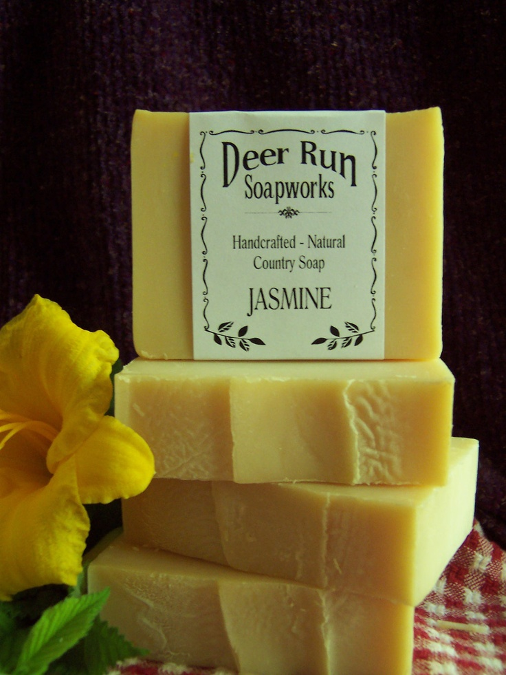 Best soap EVER.   Jasmine handcrafted CP vegan soap by Deer Run Soap Works IL