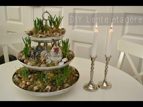 Mywondergarden: Video | DIY Lente etagère