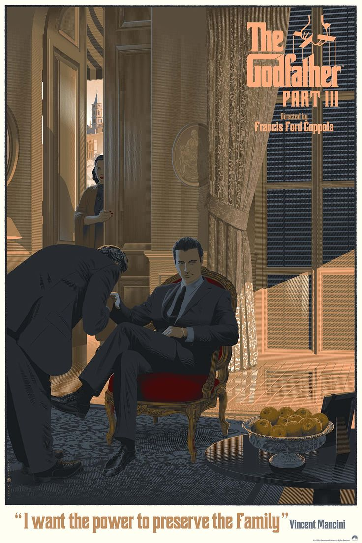 """""""The Godfather Part III"""" by Laurent Durieux 
