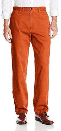 $70, Dockers University Of Miami Game Day Khaki D3 Classic Fit Flat Front Pant. Sold by Amazon.com. Click for more info: https://lookastic.com/men/shop_items/163043/redirect