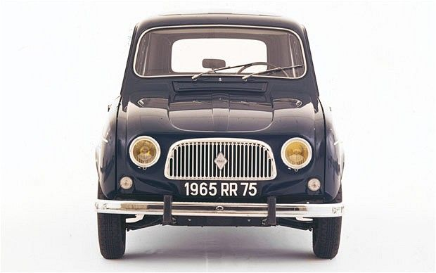 Renault 4, 1956. A car to match the classless utility of blue jeans. < I had one once, along time ago!