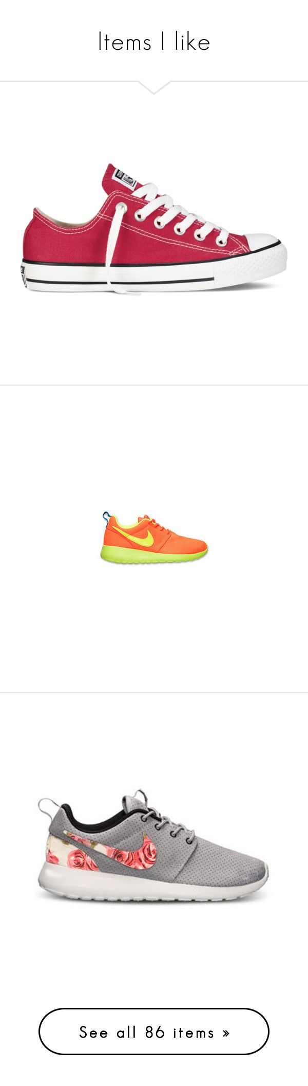 """""""Items I like"""" by jadasmith1 ❤ liked on Polyvore featuring shoes, sneakers, converse, red, chaussures, red shoes, converse shoes, star shoes, rocker shoes and rubber sole shoes"""