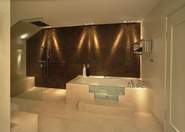 die besten 17 ideen zu badezimmerbeleuchtung auf pinterest. Black Bedroom Furniture Sets. Home Design Ideas