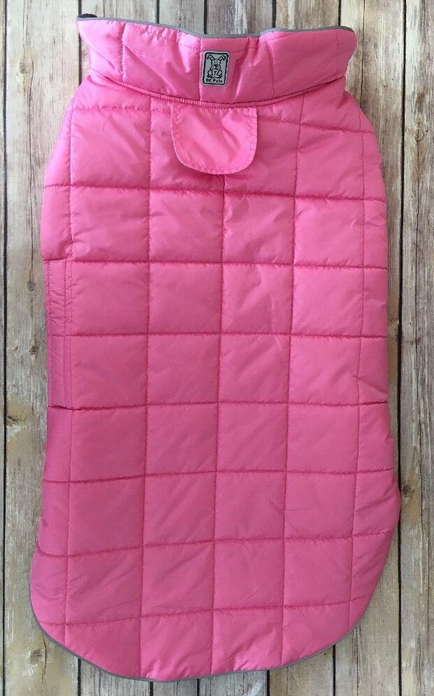 Rc pet skyline puffy reversible dog vest pink blackberry for Ikea safety vest