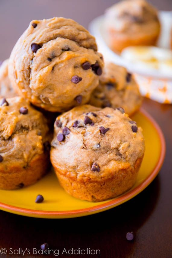 Skinny Peanut Butter Banana Muffins....packed with flavor, whole wheat, and sweetened with honey