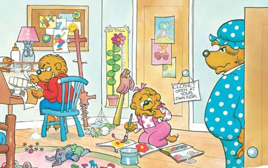 8 truths about home organization i learned from the berenstain bears via apt. therapy - so cute/true!Helpful Ideas, Apartments Therapy, Organic Ideas, Ocd Organic, Berenstain Bears, Home Organic Tips, Cleaning Tips, Messy Room, Home Organization