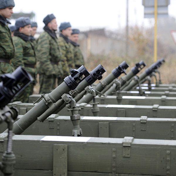 В ЛНР заявили, что силовики нарушают условия отвода военной техники | РИА Новости