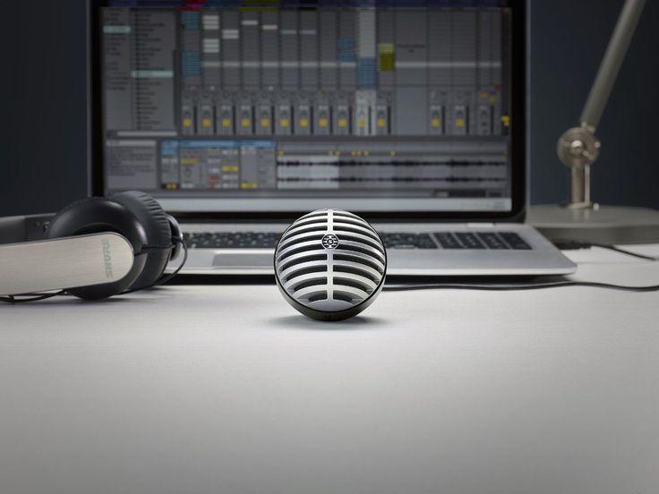 Desktop Computer Microphone Studio & Lightning Cable Recording Audio Studio Gray in Musical Instruments & Gear, Pro Audio Equipment, Microphones & Wireless Systems | eBay