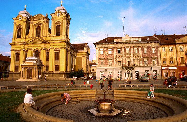 Union Square in Timisoara, RO - My beautiful home