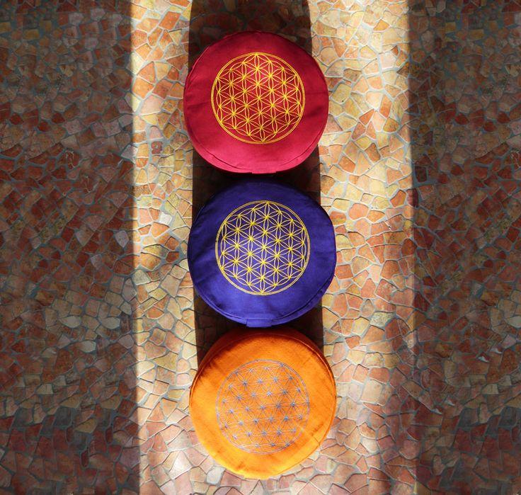 Blume des Lebens Meditationskissen im SHOP bei http://LICHTerleben.com
