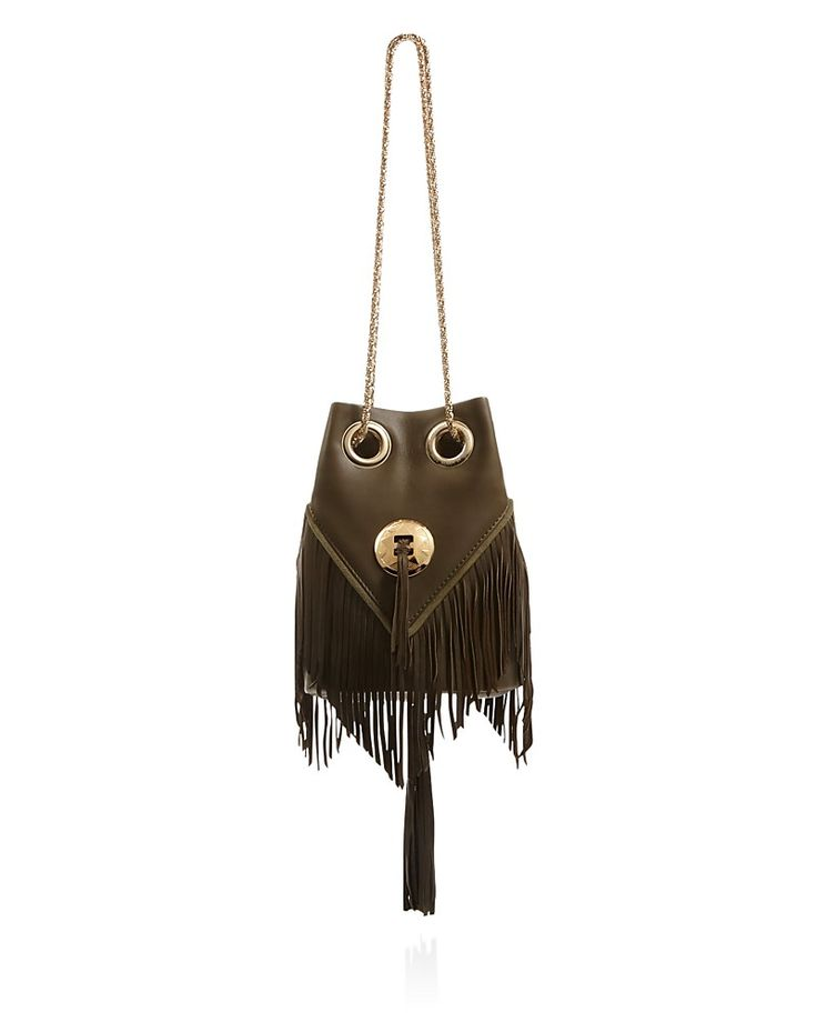 Delphine Delafon Chain Fringe Bucket Bag