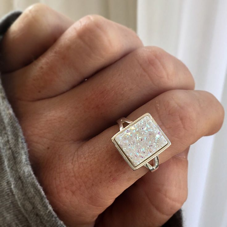Image of Druzy Quartz Ring [GC05]