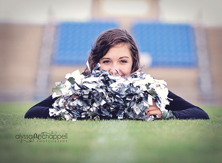 Senior Cheerleader, Idea for my sister's senior pictures
