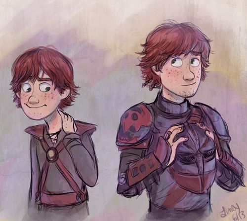 Hiccup  Art by limey404